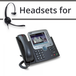 Headsets for Cisco 7970G
