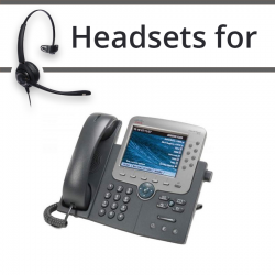 Headsets for Cisco 7975G