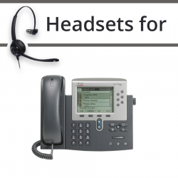 Headsets for Cisco 7985