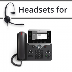 Headsets for Cisco 8811