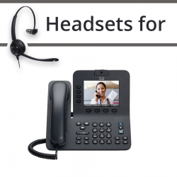 Headsets for Cisco 8941