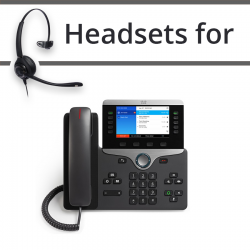 Headsets for Cisco 8841