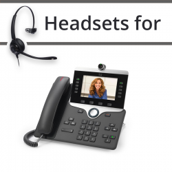 Headsets for Cisco 8845