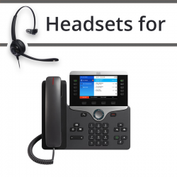 Headsets for Cisco 8851
