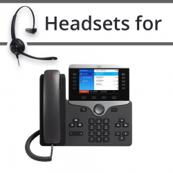 Headsets for Cisco 8861