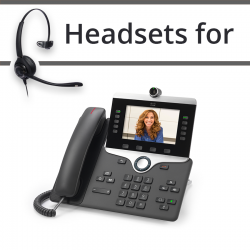 Headsets for Cisco 8865