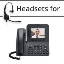 Headsets for Cisco 8945G