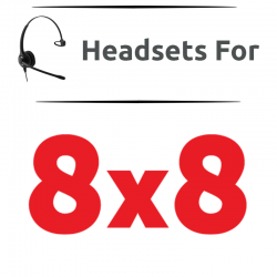Headsets for 8x8