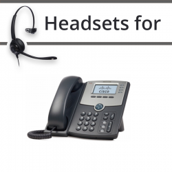 Headsets for Cisco SPA942