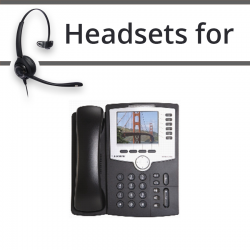 Headsets for Cisco SPA962