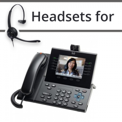 Headsets for Cisco 9951