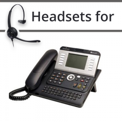 Headsets for Alcatel-Lucent 4101T