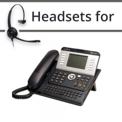 Headsets for Alcatel-Lucent 4102T