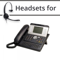 Headsets for Alcatel-Lucent 4103T