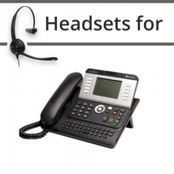 Headsets for Alcatel-Lucent 4105T