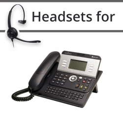 Headsets for Alcatel-Lucent IP Touch 4028