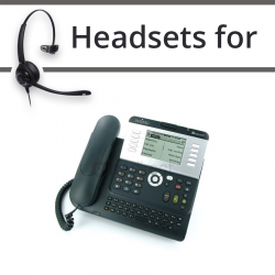 Headsets for Alcatel-Lucent IP Touch 4038