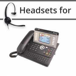 Headsets for Alcatel-Lucent IP Touch 4068