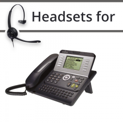 Headsets for Alcatel 8001