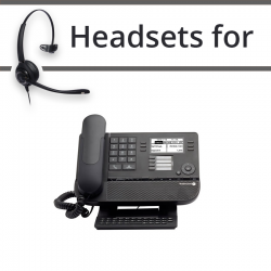 Headsets for Alcatel 8028