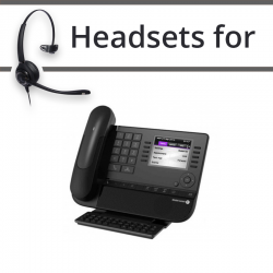 Headsets for Alcatel 8040