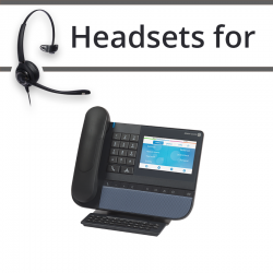 Headsets for Alcatel 8078