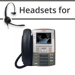Headsets For Avaya  1165E
