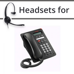 Headsets For Avaya  1603