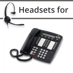 Headsets For Avaya  4424D+