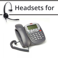 Headsets For Avaya  5610