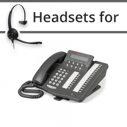 Headsets For Avaya  6416D+M