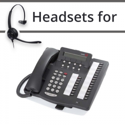 Headsets For Avaya  6424D+