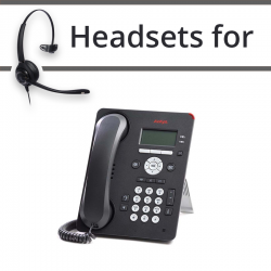 Headsets For Avaya  9601