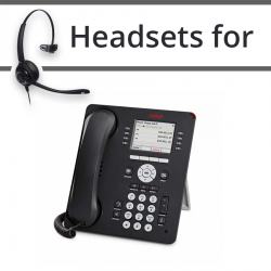 Headsets For Avaya  9611G