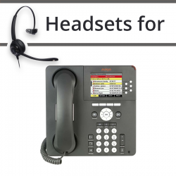 Headsets For Avaya  9640