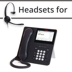 Headsets For Avaya  9641