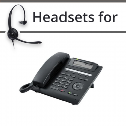 Headsets For Unify Siemens OpenScape IP CP205