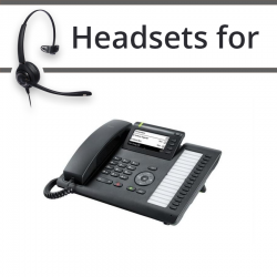 Headsets For Unify Siemens OpenScape IP CP400