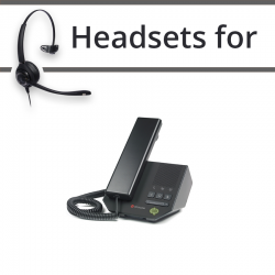 Headsets for Polycom Soundpoint CX200