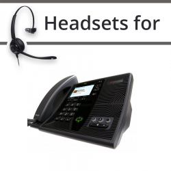 Headsets for Polycom Soundpoint CX600