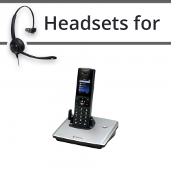 Headsets for Polycom VVX D60
