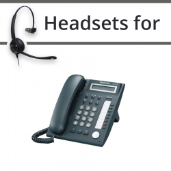 Headsets for Panasonic KX-DT321