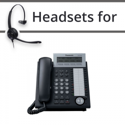 Headsets for Panasonic KX-DT333