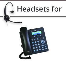 Headsets for Grandstream GXP1400
