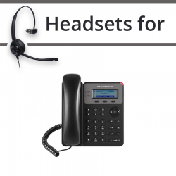 Headsets for Grandstream GXP1615