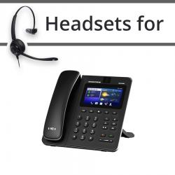 Headsets for Grandstream GXV3240