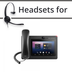 Headsets for Grandstream GXV3275