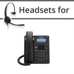 Headsets for Panasonic KX-HDV130