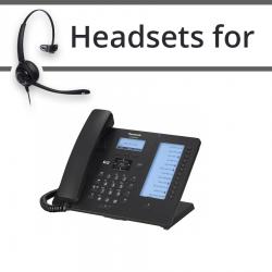 Headsets for Panasonic KX-HDV230