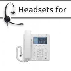Headsets for Panasonic KX-HDV330